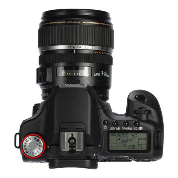 حالتهای مختلف در دوربین - Canon 50D