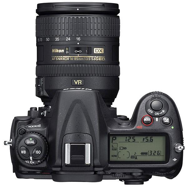 حالتهای مختلف در دوربین - Nikon D300s